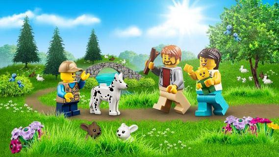 LEGO til både store og små