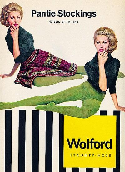 Nylonstrømperne var Wolfords første store succes.